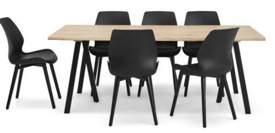 Unikt og moderne spisebordssæt