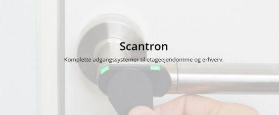 Vær på den sikre side med Scantron.dk